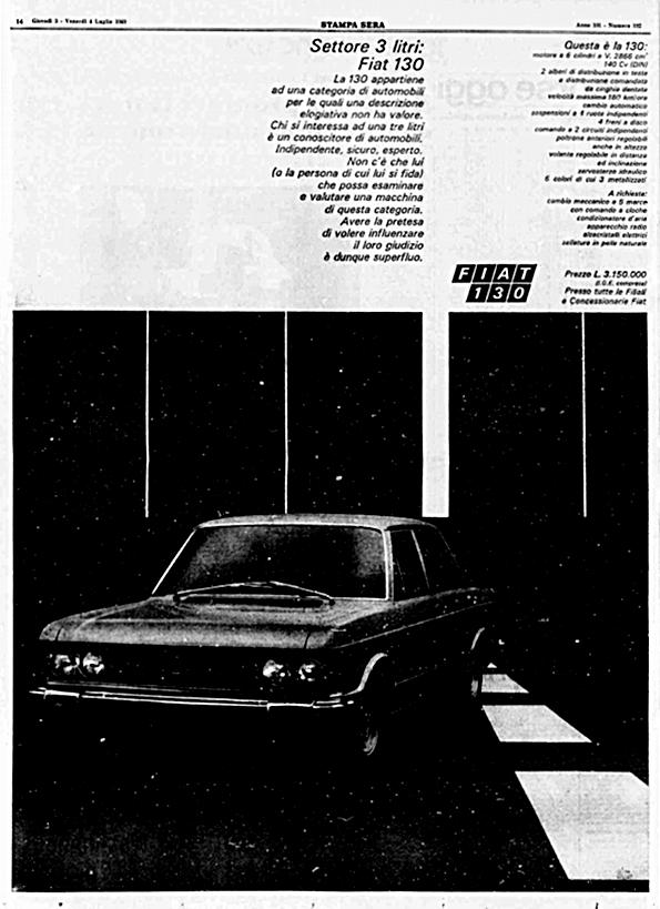 La Stampa Sera, 3 Luglio 1969
