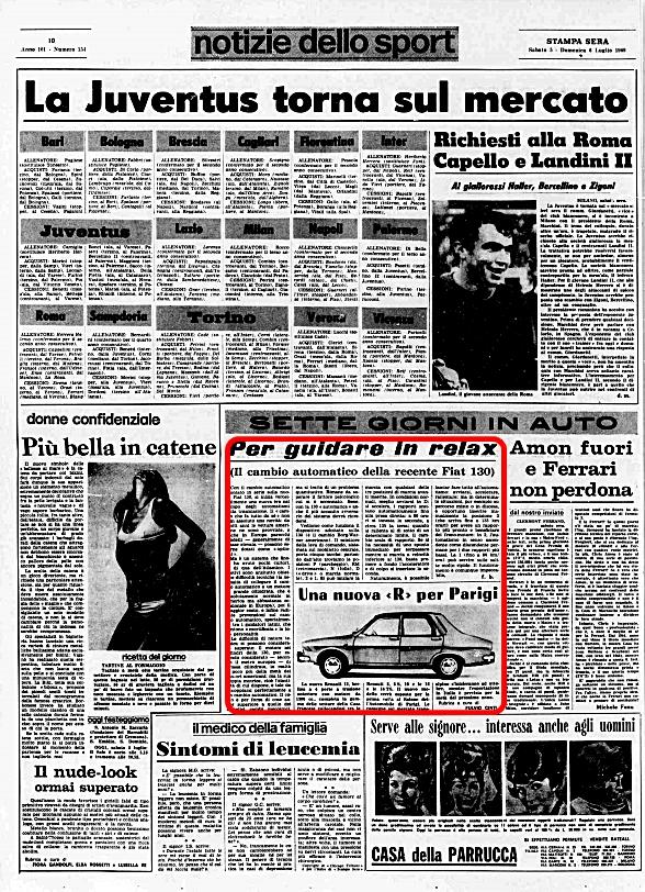 La Stampa Sera, 5 Luglio 1969