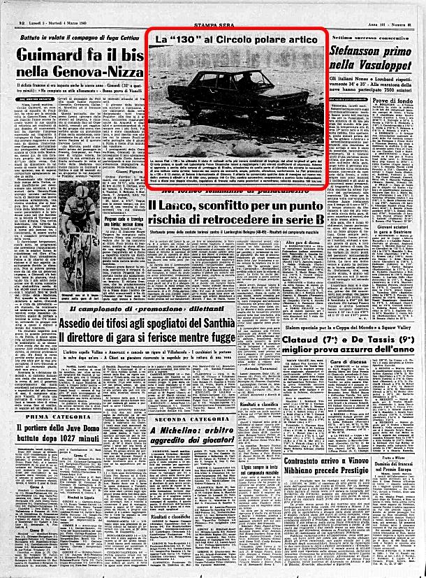 La Stampa, 3 Marzo 1969